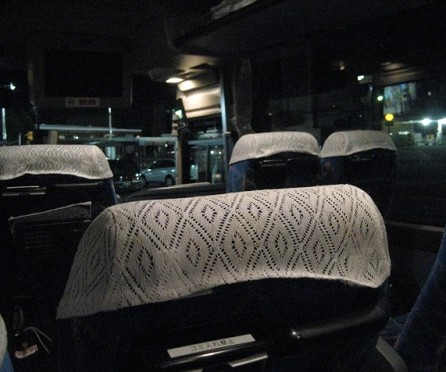 夜行バス 席 場所